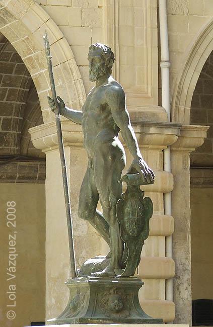 Estatua de Neptuno. © Lola Vázquez, 2008