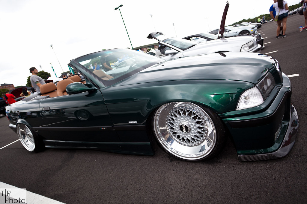 Bagged E36 M3 Convertible On 18 Upconverted Bbs Rs Flickr