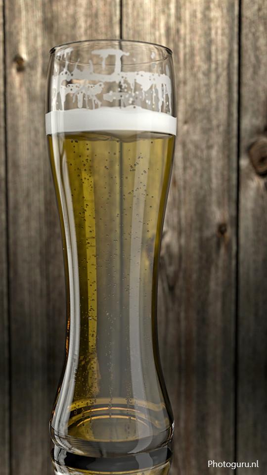 3d bierglas