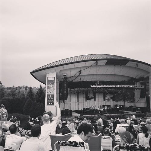 Summer concert at Meijer Gardens.