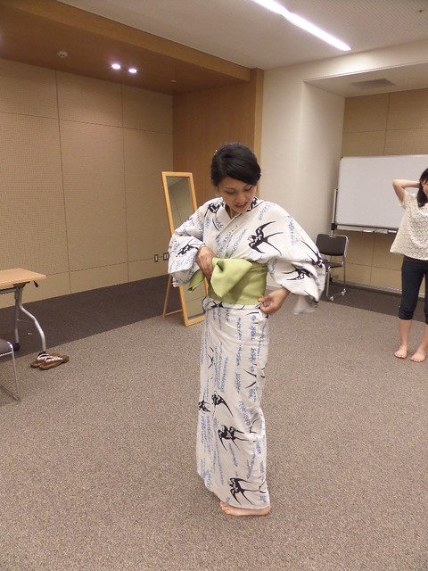 Yukata Teacher
