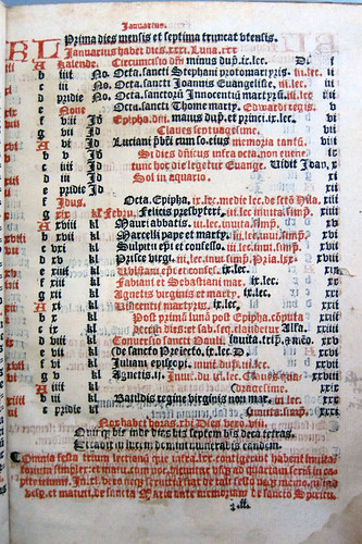sarum breviary caly leaf2r