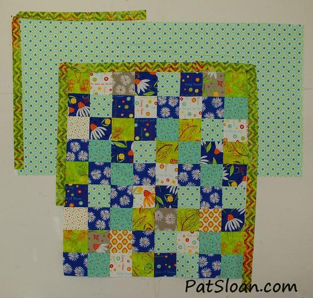 pat sloan scrap square quilt 8