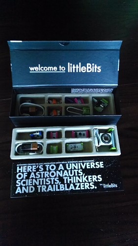 littleBits Space Kit contents