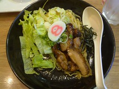 Fried Noodles with Chicken Teriyaki @ Hachiban Ram…
