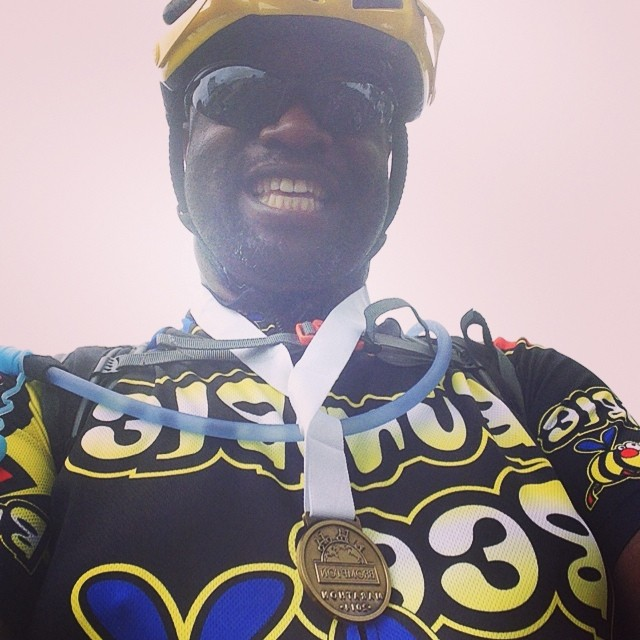 Brompton Meander medal. #urban #bromptonbicycle #bwc2014