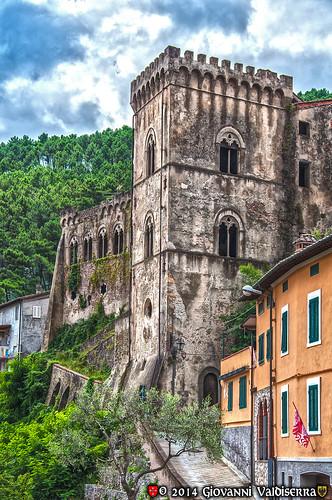 italy castle italia castello hdr buti