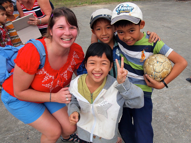 New friends in Vietnam