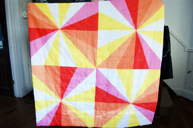 Spoonflower Sample Quilt