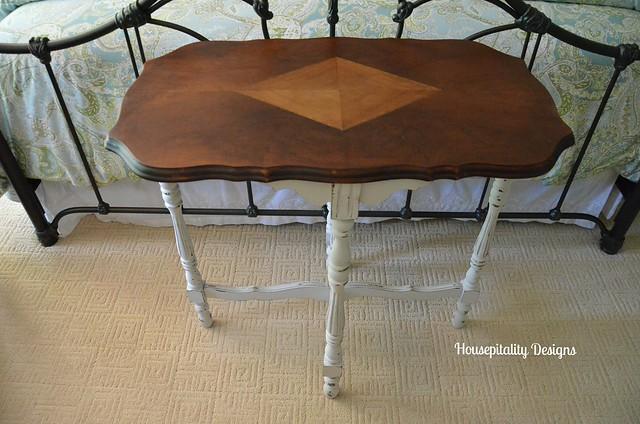 Vintage painted table