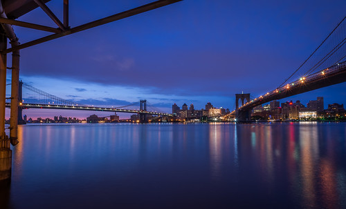Dawn at the Two Bridges by Geoff Livingston