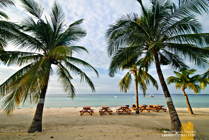 Bolod Beach at Bohol Beach Club in Panglao