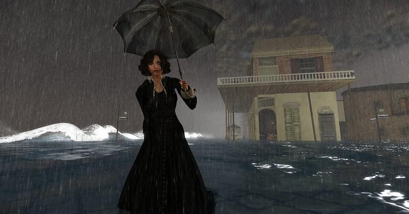 Hurricane Diane at St. John's Parish