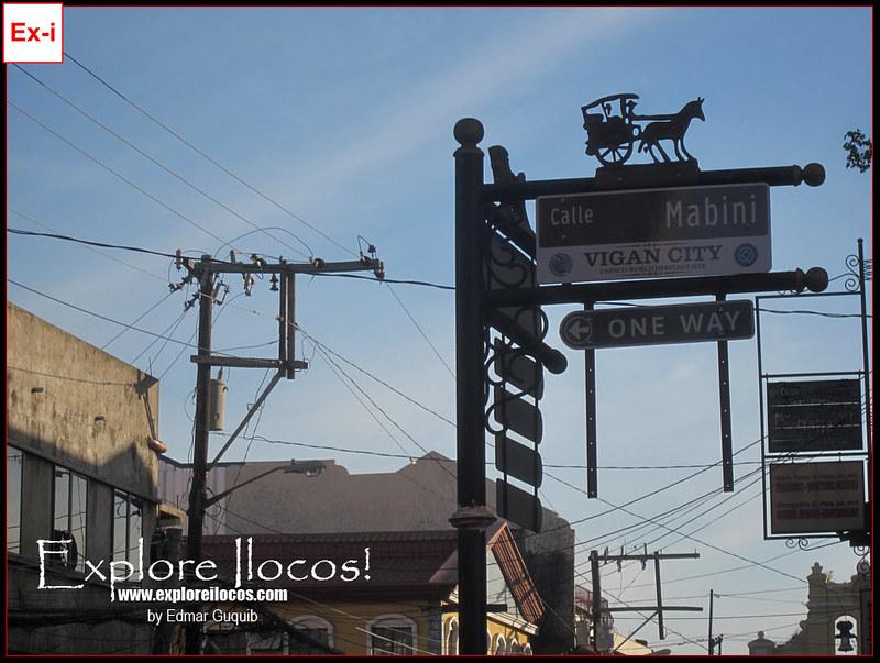 Vigan Street Signs