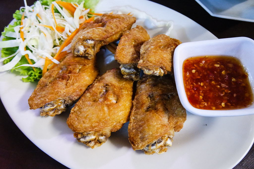 Bangkok Food Part 2: Fried Chicken Wing