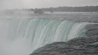 Close to the Canadian Falls
