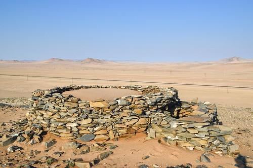 Former German forts (100 y old) near Lüderitz, Namibia