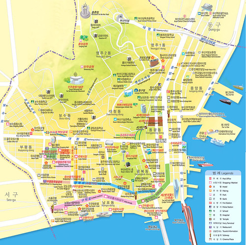 junggu busan map