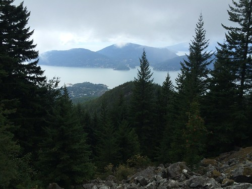 Nice views on the Baden Powell Trail