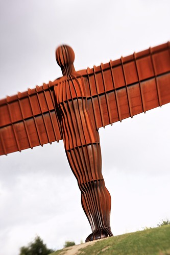 Angel of the North - Lensbaby by Paul Gregory