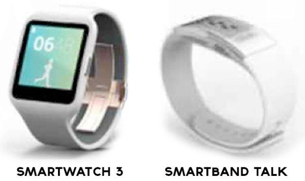 Sony SmartWatch 3 и SmartBand Talk