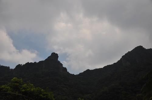 猴硐越嶺三貂嶺步道-獅子嘴奇岩