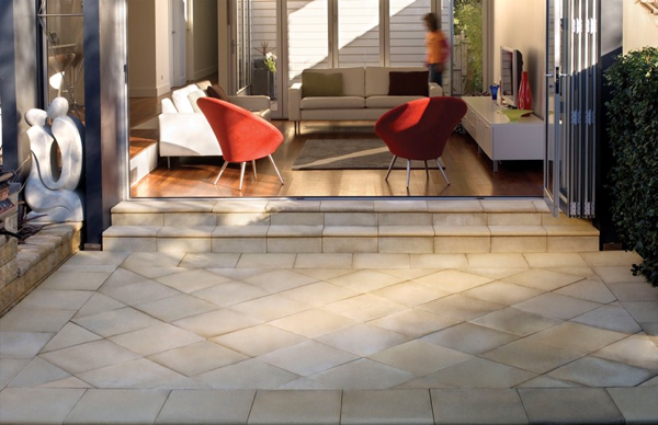 Boral's Adobe is a fashionable and affordable line of pavers for alfresco settings