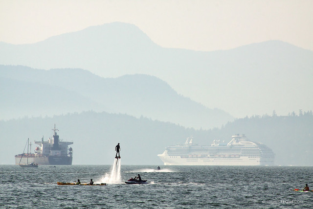 Today in Vancouver: Aquaman Can Fly