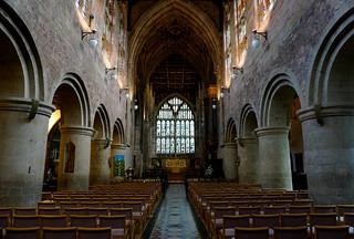 Great Malvern Priory interior