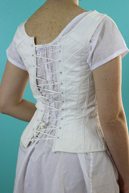 Laughing Moon #115 Ladies' Regency and Romantic Era Corset