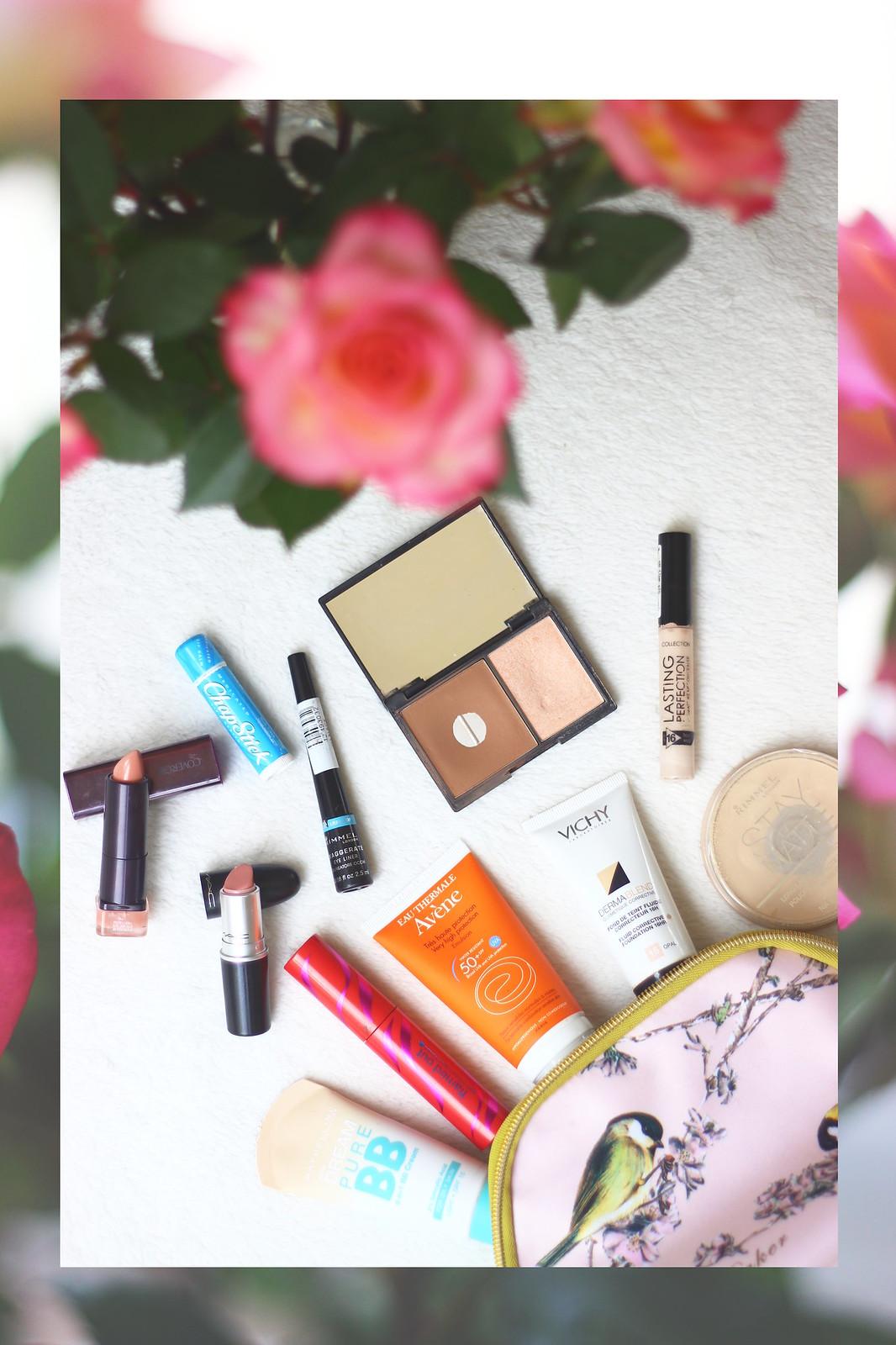 IMG_7858 layered, make up, everyday, beauty, products, avene, skincare, high street