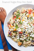 Roasted Veggie Feta Orzo Salad