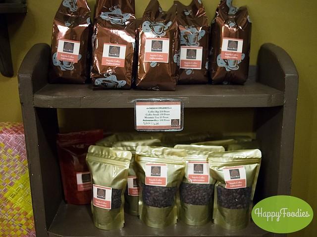 Coffee for sale sourced from Fidelisan farm in Sagada