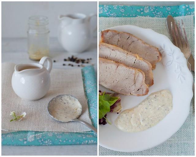 lomo al horno y salsa pimienta 1 Collage