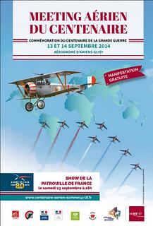 Amiens – Glisy : Centenaire aérien Somme 14-18