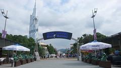 Centrum Batumi - droga na molo.