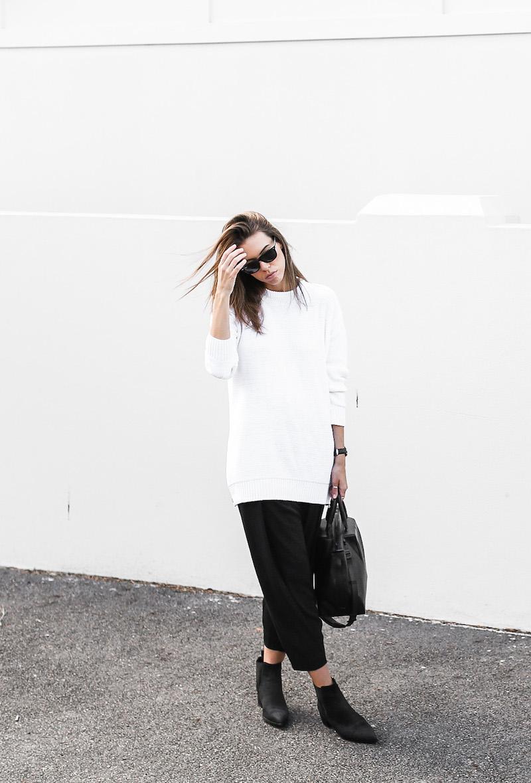 modern legacy fashion blog Australia Acne Studios knit sweater Jensen Chelsea boots Alexander Wang bag street style (2 of 6)