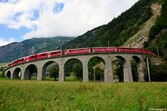 Viadotto di Brusio - Ferrovia Retica RhB
