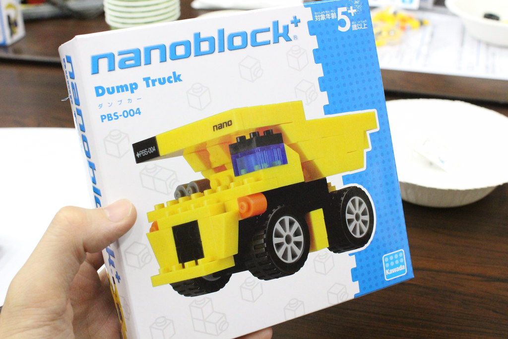 ナノブロックプラス_ダンプカー