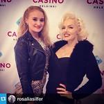 Show & Dinner - Tribute to Marilyn Monroe jatkuu tänään! Kuvauta itsesi Marilynin kanssa ja voita #casinoshowdinner -liput!  #casinohelsinki #helsinki #casino #marilyn #marilynmonroe   #Repost from @rosaliasilfer  ---  #casinohelsinki @s