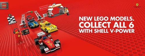 The new Shell V-Power LEGO Collection 1