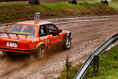race(0.0), race car(1.0), auto racing(1.0), automobile(1.0), rallying(1.0), racing(1.0), vehicle(1.0), stock car racing(1.0), sports(1.0), dirt track racing(1.0), motorsport(1.0), off-roading(1.0), rallycross(1.0), autocross(1.0), race track(1.0), world rally championship(1.0),