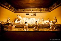 Reclining Burmese Buddha 0821