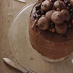 mogyorós-nutellás torta