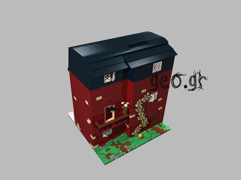 [Digital MOC]:Modular Bloomsbury House 15114017887_ff158dde31_c