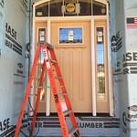 Front door installed!