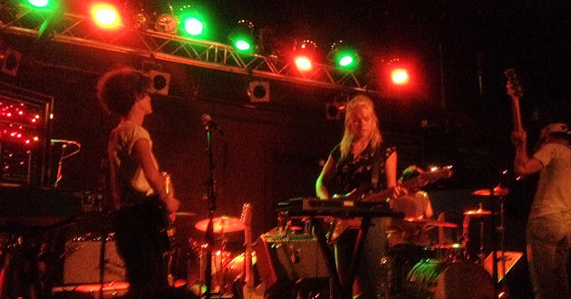 That Was The Show That Was: Beverly with The Drums | Brighton Music Hall | 22 Sept., photo by Dillon Riley