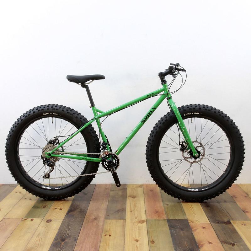 SURLY / Pugsley Complete Bike / Grassy Green