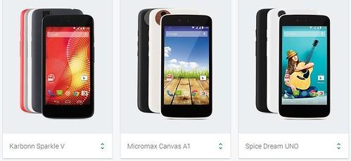 Смартфоны Android One