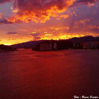 Pôr do Sol em São Vicente